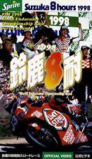 [VHS] 1998 Suzuka 8H official video Honda RVF RC45 HRC Tohru Ukawa Shinichi Ito