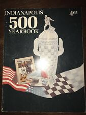 Vintage 1976 INDIANAPOLIS 500 YEARBOOK, Rutherford Cover Good Condition