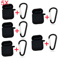 5X Anti Dustproof Earphone Headset Silicone Case Protect Cover for Apple AirPods