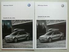 Prospekt Volkswagen VW Jetta Zubehör, 1.2011, 40 Seiten + Preisliste