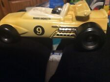 #9 Mario Andretti Indianapolis 500 Car Decanter OMB No.19 Royal Halburton China
