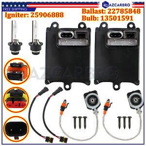 2x for 10-16 Cadillac SRX Xenon Ballast HID Light Lamp Bulb Igniter Control Unit