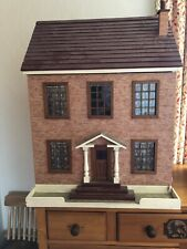 Large Dolls House 1/12th scale. With All It's Furniture