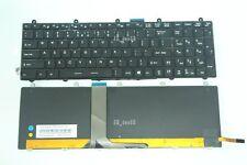 New for MSI GT60 GT70 Steel Keyboard Colorful Backlit US Black Frame Black