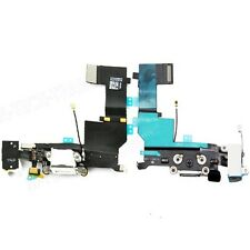 iPhone 5S Data SYNC Charging Block Port Dock Assembly Flex Cable Mic White UK
