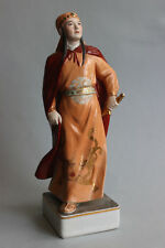 Old Jingdezhen Chinese porcelain figurine of girl Warrior USSR period