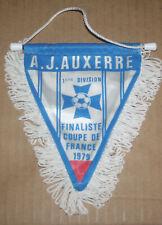 FOOTBALL FANION PENNANT AJ AUXERRE YONNE FINALISTE COUPE DE FRANCE 1979 V NANTES