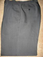 Mens Gray Plaid PIERRE CARDIN Dress Pants 34 x 31