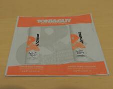 TONI & GUY DAMAGE REPAIR SHAMPOO 8ML & CONDITIONER 8ML DUO SACHETS - NEW