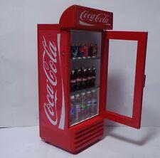 1:12 Scale Coca cola  Fridge  Dolls House Miniature Shop Drink Accessory