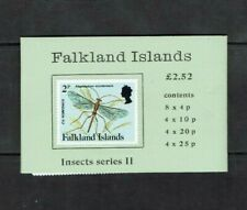 Falkland Islands: 1988,  Stamp Booklet, SB7, Insects series II, MNH