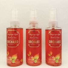 3 Bath & Body Works Orchard Honeycrisp Apple Buttered Rum Fragrance Travel Mist
