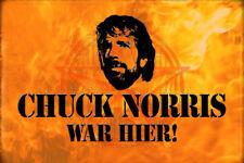 Chuck Norris Spruch 1 Blechschild Schild gewölbt Metal Tin Sign 20 x 30 cm