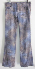 TARK '1 Paris Womens Stretch Boot Cut Patterned Jeans T2 Fits 2 / 4 Made France