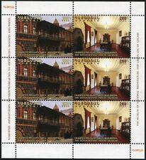 Armenien Armenia 2014 Museum Architektur Architecture 915-16 Kleinbogen MNH