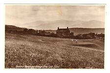 Snowdon Range - From Colwyn Bay Golf Links Photo Postcard c1910