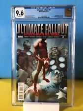 Ultimate Fallout #4 1st Miles Morales, 1st print CGC 9.6 Marvel 2011