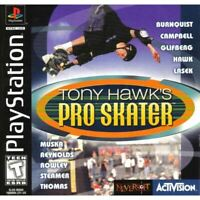Tony Hawk's Pro Skater PlayStation 1 PS1 Game Complete *CLEANED VG