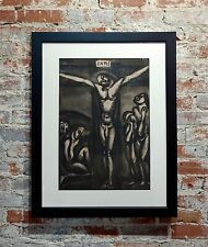 Georges Rouault - Love one another - 1948 Aquatint and drypoint etching