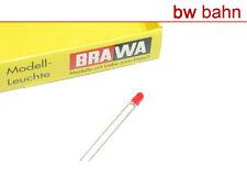 Brawa 3298 Leuchtdiode rot 3 mm Ersatzdiode für 6128 Neu