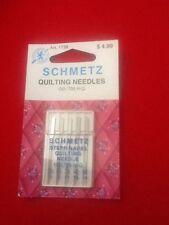 SCHMETZ SEWING MACHINE NEEDLE STEPP-NADEL QUILTING 1739 130/705 H-Q 5 Assst. NIP