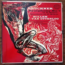 BRUCKNER Symphony No. 7 VG+ Van Otterloo 2 lps Box set Hague Vienna Epic SC-6006