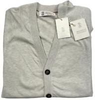 Brunello Cucinelli Garza Light Strickjacke Cardigan Knitwear Jacke Knitjacket 50