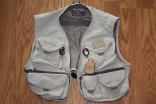 Simms Fly Fishing Vest Size Small S Mens Child Womens Guide w Extras Excellent