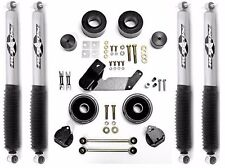 "Rubicon Express 2.5"" Lift/Leveling Kit & Monotube Shocks 07-16 Jeep Wrangler JK"