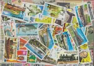 djibouti 50 différents timbres
