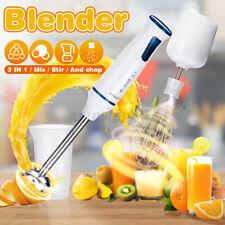 1000W 3in1 Electric Hand Blender Stick Food Mixer Grinder Fruit Whisk Eg