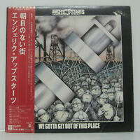 Angelic Upstarts – We Gotta Get Out Of This Place LP 1980 JAPAN WHITE PROMO