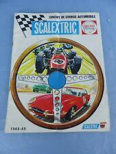 Ancien catalogue MECCANO TRI-ANG de 1968 1969 SCALEXTRIC