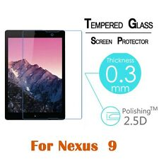 """Clear 9H Tempered Glass Film Screen Protector for HTC Google Nexus 9 Tablet 8.9"""""""