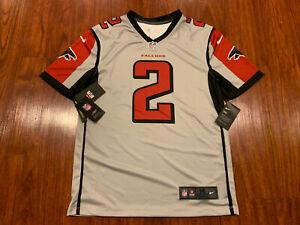 Nike Men's Matt Ryan Atlanta Falcons Gray Inverted Legend Jersey Medium M NFL