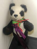 Teddies From Bearyland Bear Fully Jointed Panda Artist Bear