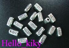 200 pcs Tibetan silver arrow square spacer beads A727