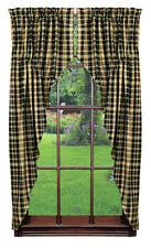 Country Farmhouse India Home Fashions Tartan Prairie Curtains