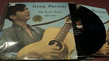 GRAM PARSONS THE EARLY YEARS 1963-1965 LP WITH BOOKLET SHRINK SIERRA 1979 VG+