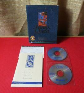 King's Quest 1-6 Collectors Edition 15th Anniversary Pc Big Box Game