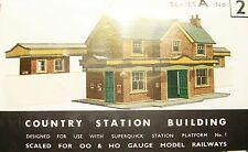 SQ2  SUPERQUICK COUNTRY STATION BUILDING  A2   KIT