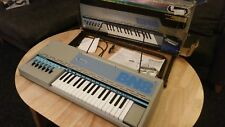 Vintage Bontempi III fan wind plastic reed chord button organ keyboard stand BN8