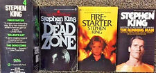 Stephen King Box Set-3 Books Vintage, Dead Zone, The Running Man, Firestarter