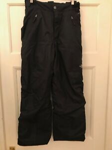 The NORTH FACE DryVent Boy's Ski Trousers - Black - Size Junior Large