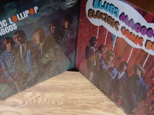 BLUES MAGOOS PSYCHEDELIC LOLLIPOP & ELECTRIC COMIC BOOK LIMITED EDITION 2 LP'S