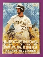 2018 Topps Legends In The Making Blue Andrew McCutchen