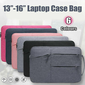 """Waterproof Laptop Sleeve Carry Case Bag Cover MacBook Lenovo Dell HP 16"""" 13"""" 15"""""""