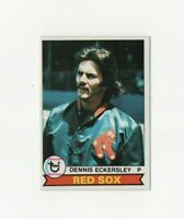 1979 Topps Dennis Eckersley Baseball Card #40 - Boston Red Sox HOF
