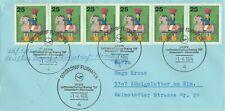 Ungeöffneter Brief LH 072 Lufthansa Erstflug Boeing 737 Düsseldorf-Manchester 74