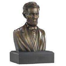 President Abraham Lincoln Bust Statue Sculpture Bronze  CIVIL WAR PERFECT GIFT